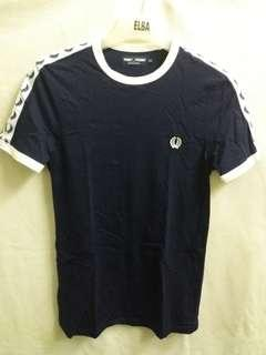 Fred perry side tape shirt