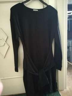 Black or Grey dress ... long sleeve A-line