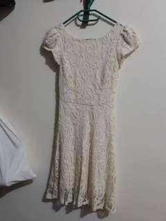 White lace dress XS-S