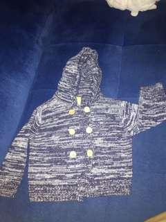 Preloved jaket rajut untuk anak bayi EYKAA