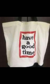 Have a good time 帆布包