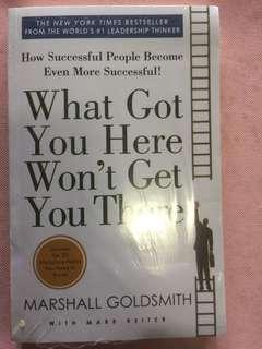 🚚 Leadership Book What Got You Will Not Get You There