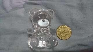 湯姆熊 甜蜜寶貝 大熊水晶