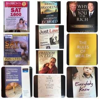 Cheap books/ SAT guides