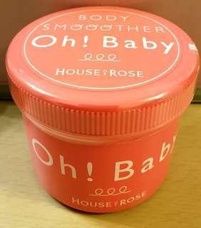 🈹️House of Rose ~ Oh! Baby身體去角質磨砂膏570g