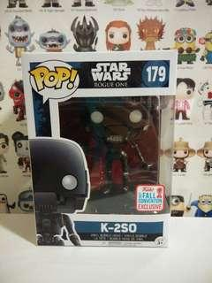 Funko Pop K-2SO NYCC Exclusive Vinyl Figure Collectible Toy Gift Movie Star Wars Rogue One