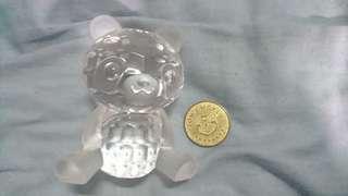 湯姆熊 甜蜜寶貝 大貓熊水晶