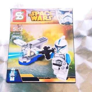 Space Wars Lego-Inspired Set (B).