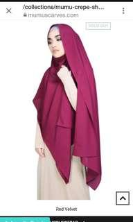 Mumuscarves crepe shawl