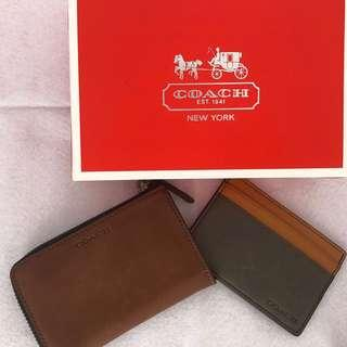 🚚 [BRAND NEW] Coach Men Wallet and Card Holder