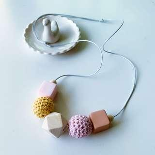 🚚 Knittood Hexagon Necklace / Geometry Necklace