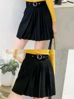 The Stage Walk Pleated Skirt
