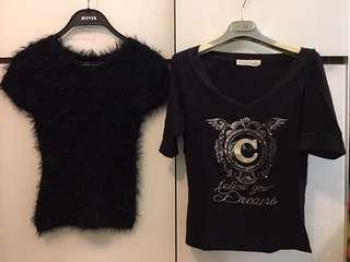 6 items, blouses n tee