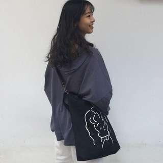 Totebag Baby and Curly Girly