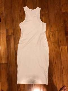 🚚 White Dress bodycon