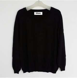 Jaket Sweater Hitam