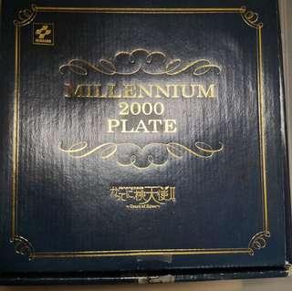 (全新)Konami Dancing Blade 任性桃天使2!かってに桃天使2! Millennium 2000 plate