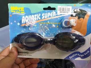 🚚 Crazy Deal Hot Clearance # Swimming Goggles sets with earplug and nost clip.