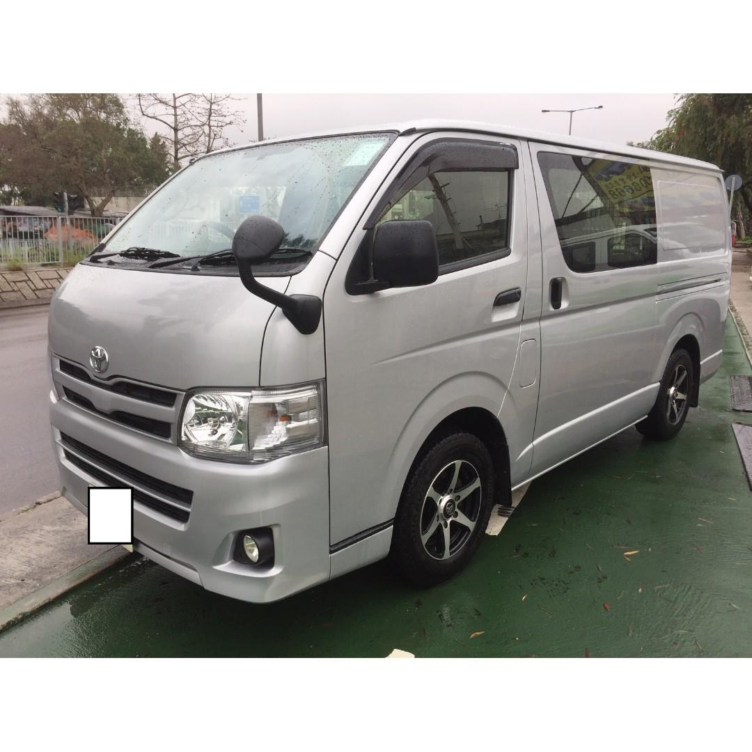 2013 豐田 Toyota toyota hiace 3.0 棍波