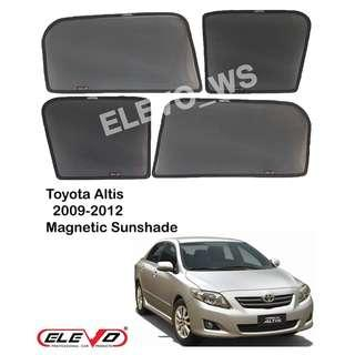 Magnetic sunshade Altis 2009-12