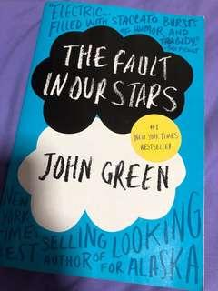 🚚 The Fault In Our Stars book