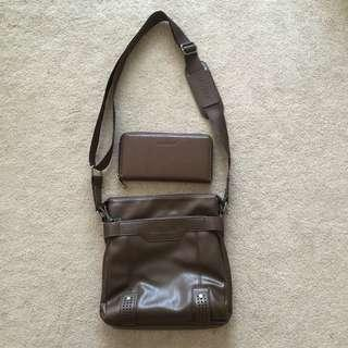 Leinasen Sling Bag & Wallet