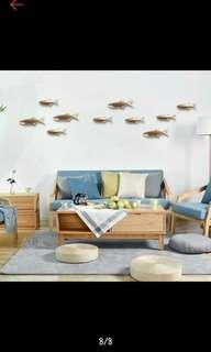 Ceramic Fish wall deco