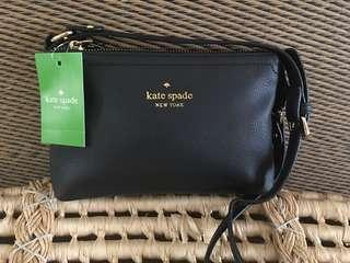 Ready stock: Inspired Kate spade Pebbled PU leather sling bag