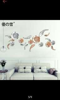 Lotus wall deco