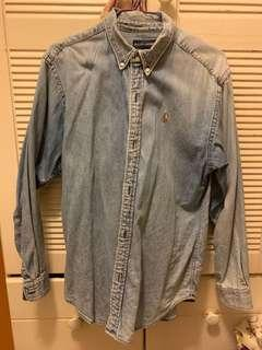 Polo Ralph Lauren 牛仔恤衫 denim shirt