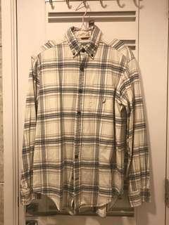 Nautica 長袖裇衫 shirt work suitable