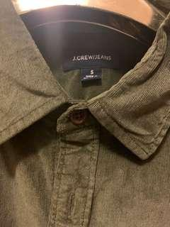 J-crew 燈芯絨shirt