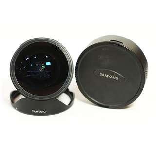 Samyang 12mm f2.8 for Canon Fisheye Mulus