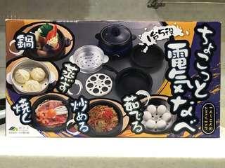 🚚 日式五合一小巧電火鍋