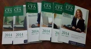 CFA books (2014)