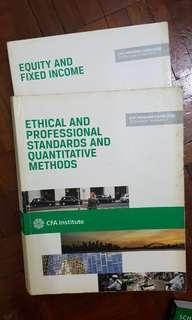 CFA text books (2014)