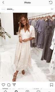 Steele midi dress bnwt rrp $380