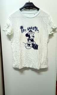UNIQLO MICKEY M SHIRT