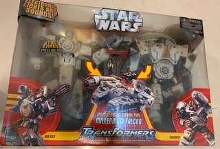 Star Wars TransFormers Millennium Falcon合體