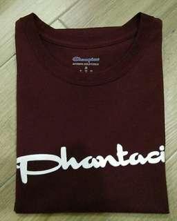 PHANTACi x Champion Maroon Tee