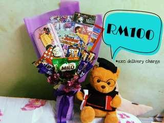 Stationery Bouquet RM100