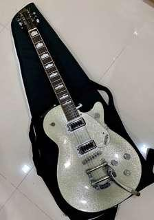 Gretsch G5439T Electromatic Pro Jet - Silver Sparkle