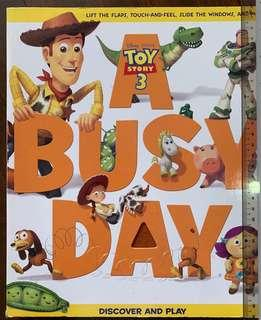 Disney Toy Story 3 Touchy Feely Giant Book (Hardboard)