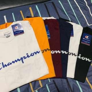 [Instock] 2 for 80 Champion T Shirts