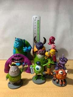 Disney Pixar Monsters University Figurine Playset