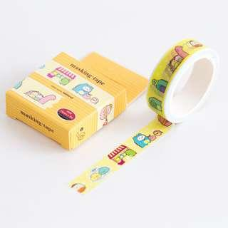 Sumikko Gurashi Yellow Block Washi Tape #233