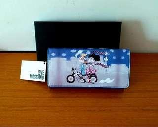 ❤ 長銀包  Love moschino wallet