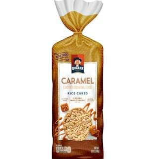 Caramel Rice Cakes