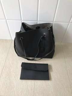 Handbag plus Pouch (2 pcs)