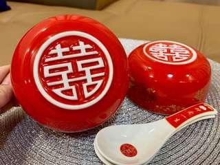 🚚 Wedding Bowl (for riceballs, dumplings)